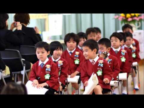2014青江白梅幼稚園卒園式