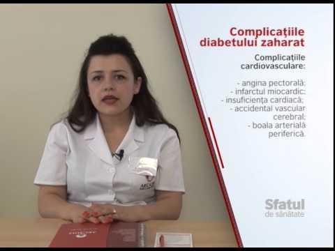 Mecanisme biochimice ale complicațiilor diabetului