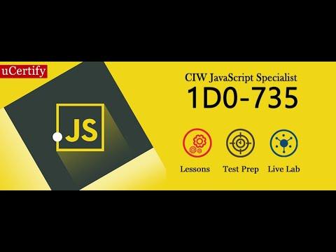 CIW JavaScript Specialist 1D0-735 Exam Training -uCertify - YouTube