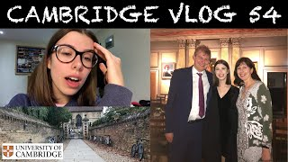 CAMBRIDGE VLOG 54: physics is hard... (and I take my parents to formal for the first time!)