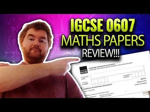 Paper 4 Review iGCSE International Mathematics 0607 Paper 41 (Europe)
