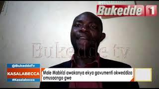 #Kasalabecca: Male Mabirizi awakanya ekya Govument okweddiza omusango gwe.