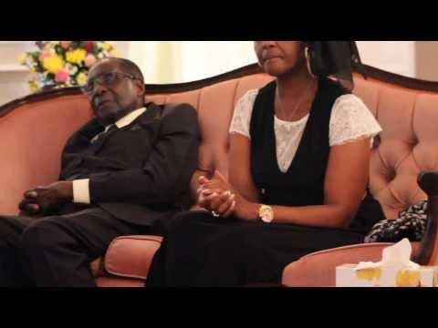 Ailing Mugabe filmed at sister's memorial slumped on sofa