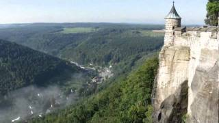 preview picture of video 'Festung Königstein -  Sachsische Schweiz'