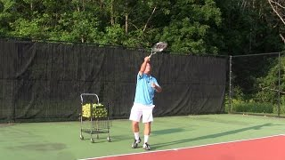 Tennis Tip   Serve   Use The Wrist To Reach An Ideal Contact Point