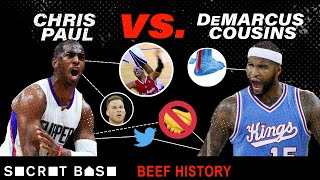Chris Paul annoys everyone, but especially DeMarcus Cousins