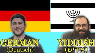 Can German and Yiddish Speakers Understand Each Other?