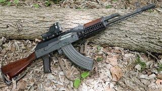 Meprolight M21 Reflex Sight On AKM AK47