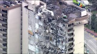 O persoană a murit şi aproape o sută sunt căutate după prăbuşirea unei clădiri rezidenţiale în Florida