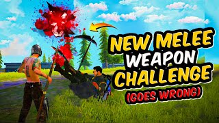 New Melee Weapon Challenge Goes Wrong || Advance Server Free Fire || Desi Gamers