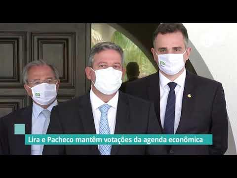 Votações da agenda econômica serão mantidas, garantem presidentes - 18/02/21