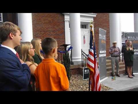 Video: Hawkins County 4H members lead the pledge of allegiance.