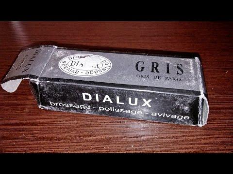 Серая полировальная или полировочная паста Dialux (Oialux) китайского производства