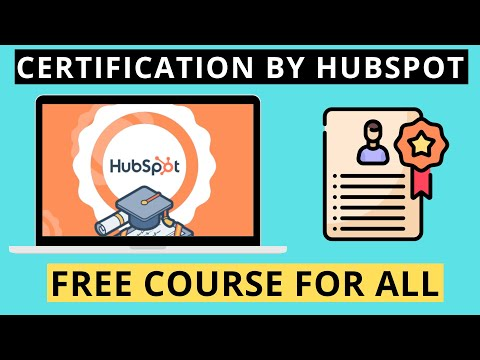 Free Certifications courses by HubSpot Academy - Lockdown ...