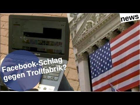 Facebook-Schlag gegen Trollfabrik? [Video]