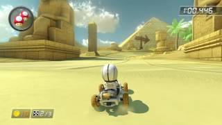GCN Dry Dry Desert - 1:54.007 - succ sv¢?? (Mario Kart 8 World Record)