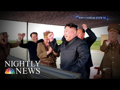 North Korean Leader Kim Jong Un Vows To Complete Nuclear Weapons Program | NBC Nightly News