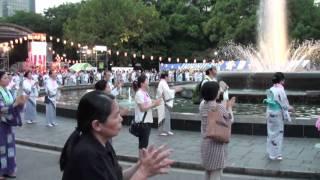 炭坑節・盆踊り 2010年版 (日比谷公園・大盆踊り大会 100821)