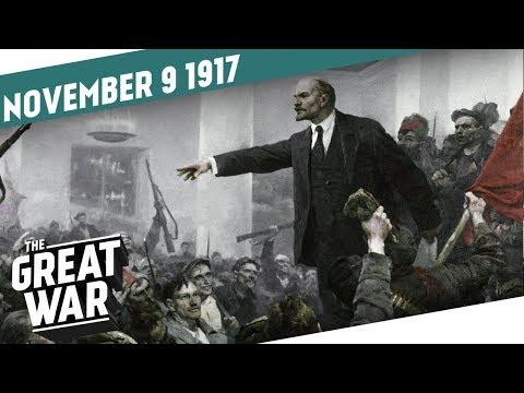 Ruská říjnová revoluce - Velká válka