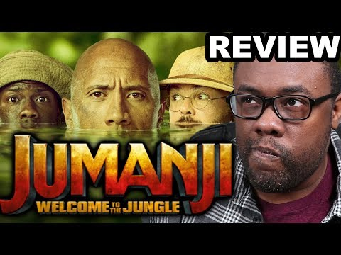 JUMANJI WELCOME TO THE JUNGLE – Movie Review & Sony Rant (Black Nerd)