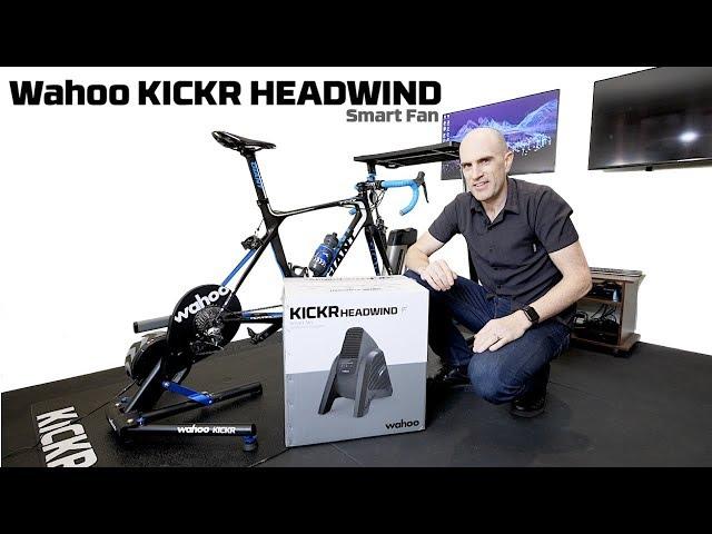 Видео Барабан Wahoo KICKR Headwind Bluetooth Fan