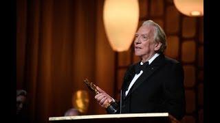 Donald Sutherland receives Honorary Award at 2017 Governors Awards