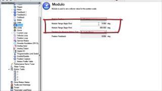 AKD Settings – Modulo