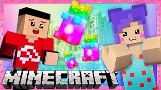 There's GUMMY BEARS in Minecraft?! A Nightmare in Candy World