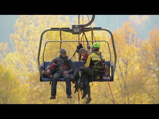 Видео Косынка спасательная Singing Rock Evacuation Triangle Sit
