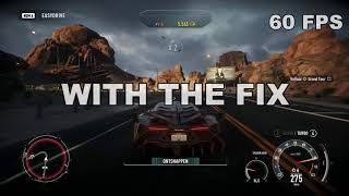 Need for Speed Rivals 60FPS FIX and gameplay