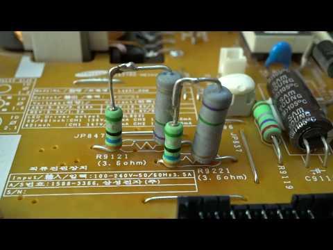 Доработка блока питания BN44-00645A L42S1_DSM (ограничение тока подсветки).