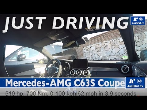 2015 Mercedes AMG C63S Coupe - Just Driving