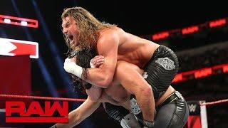 Seth Rollins vs. Dolph Ziggler - Intercontinental Championship Match: Raw, Sept. 17, 2018