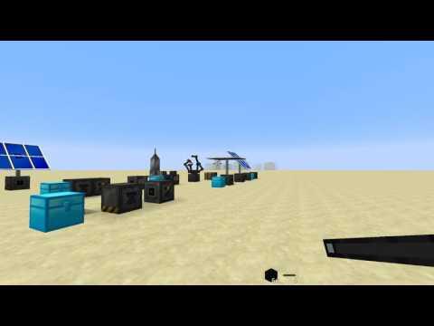 Угольный генератор и производитель микросхем в Galacticraft 3