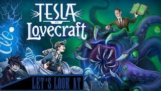 Let's look at: Tesla vs Lovecraft