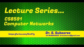 Dr. S. Subasree | Networks | CS8591 Switching Techniques