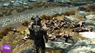 ★ Skyrim Mods - ZOMBIE ARMY! ft. MFPallytime - WAY