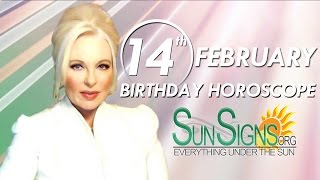 Birthday February 14th Horoscope Personality Zodiac Sign Aquarius Astrology