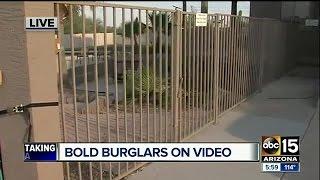 Surprise Police investigating string of burglaries