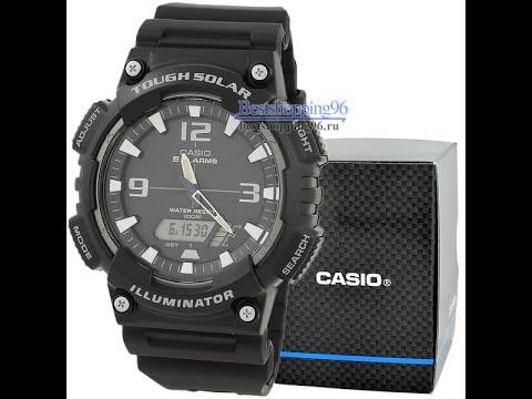 Видео обзор наручных часов CASIO AQ-S810W-1A