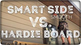 Smart Side vs. Hardie Board Siding which is better