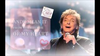 Lirico I just called to say i love you de Barry Manilow.
