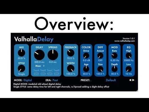 Valhalla Delay | Overview