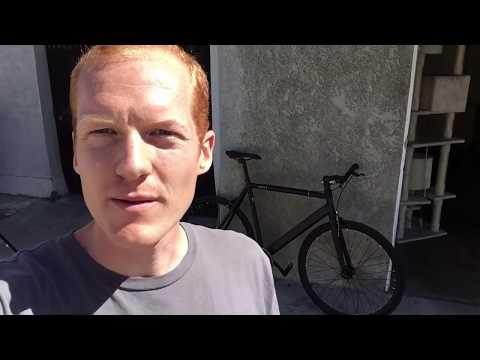 6KU Aluminum Single Speed Fixie Urban Track Bike Review by Fixie City's Founder