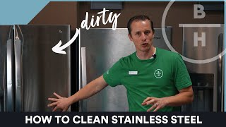 How to Clean Stainless Steel Appliances.. What is the best Cleaner?