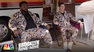 Jake and Doug Judy Face Off in a Friendly Competition   Brooklyn Nine-Nine