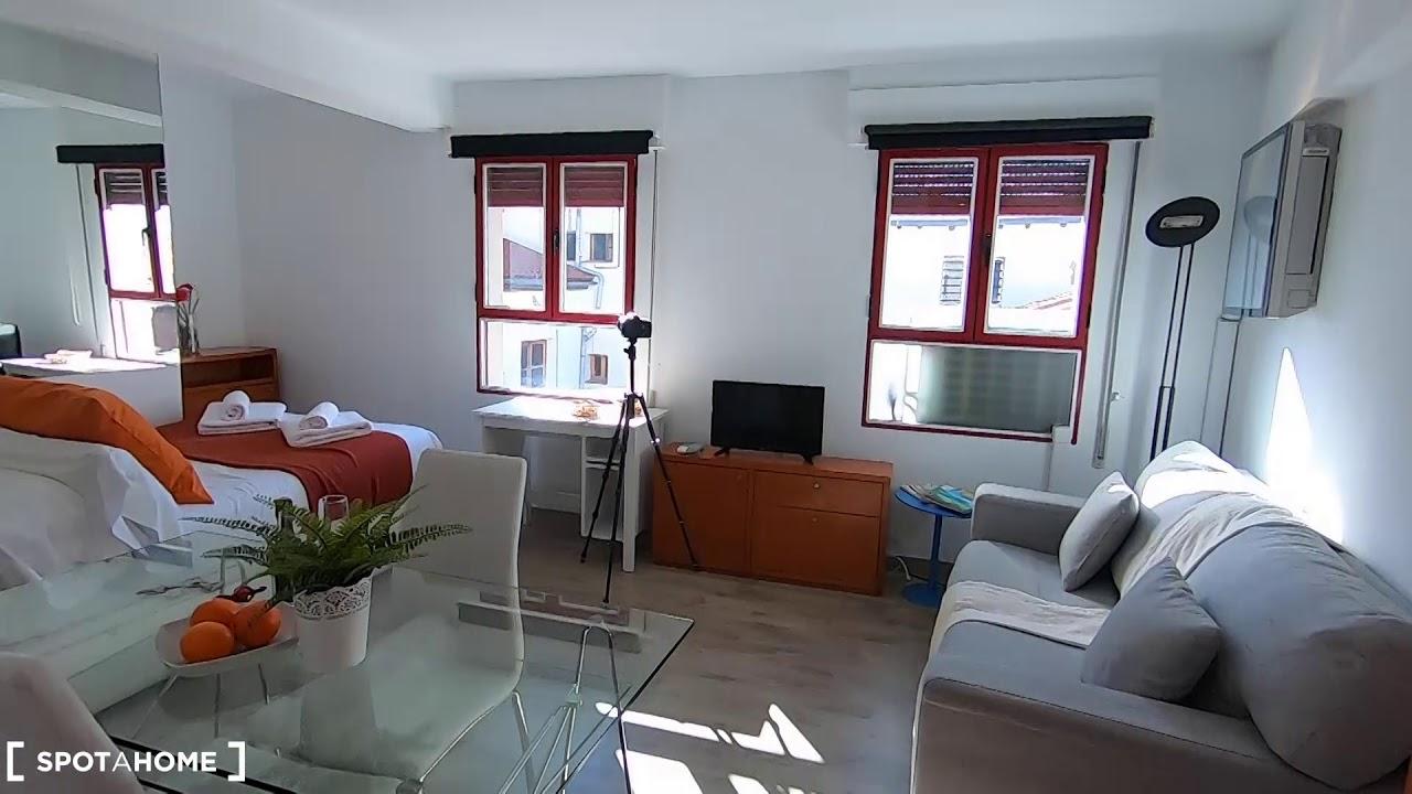 Studio apartment for rent in La Latina