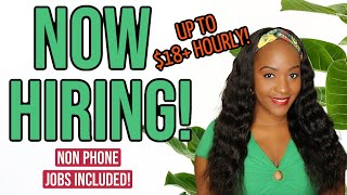 5 EASY TO START Work From Home Jobs *THEY PROVIDE EQUIPMENT*