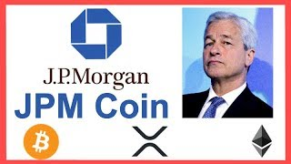 """BREAKING! JP Morgan Creates Crypto """"JPM COIN"""" - Jamie Dimon Liar - What it means for XRP!"""