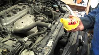 DIY 1998 - 2002 Honda Accord Coolant Change - Drain and Fill